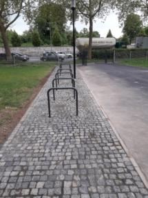 AGON Gartenbau Kassel Göttingen Pflasterverlegung Fahrradständer